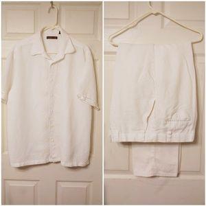 Other - Men's Linen Pants set